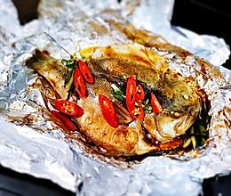超级简单的锡纸烤鱼的做法