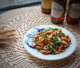 #精品菜谱挑战赛#炒小河虾的做法