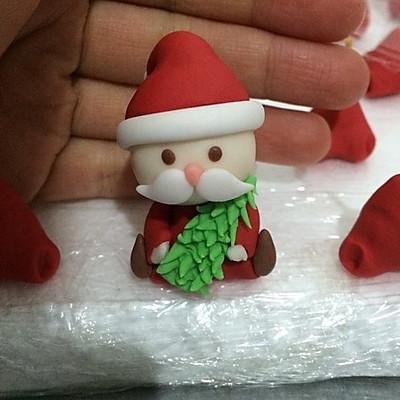 翻糖公仔—姜饼屋的圣诞老人