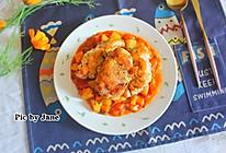 茴香茄汁烩鸡扒#松下多面美味#的做法