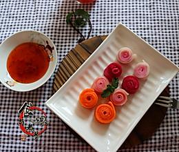 彩色肠粉#美的原汁机MoJiTo#的做法