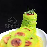 炎炎夏季巧吃苦-----红枣酿苦瓜的做法图解12