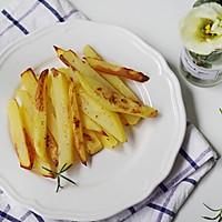 不用一滴油,健康烤薯条的做法图解8