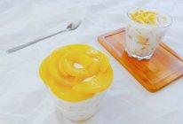 半杯黄桃半杯奶的做法