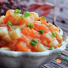 宝宝辅食:茄汁山药