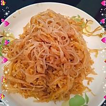 下饭菜―酸菜炒粉条~
