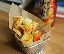 烤杂蔬(土豆,红薯,藕片...)的做法