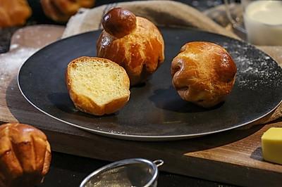 黄油面包:来尝尝贵族吃的面包
