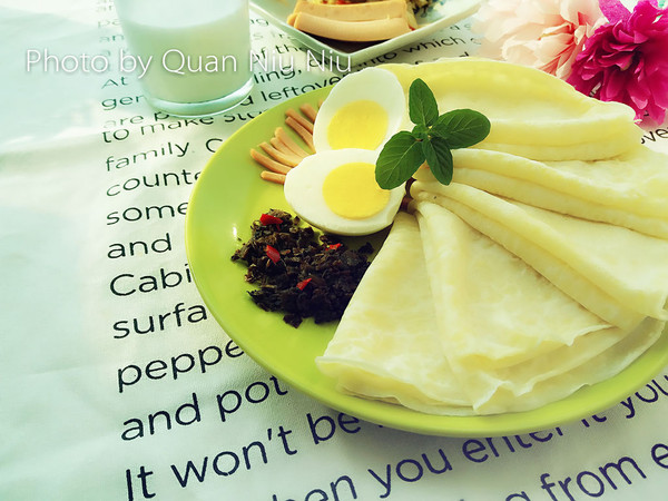 蛋香煎饼的做法