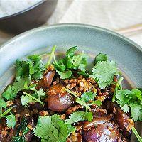 蒜香肉末酱茄子--米饭杀手(4)的做法图解10