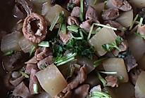 牛杂炖萝卜的做法
