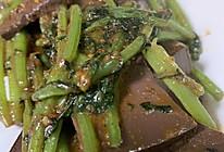 茼蒿血豆腐绝配的做法