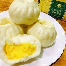 无敌美味奶黄包#奈特兰草饲营养美味#
