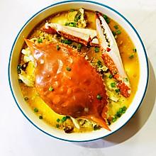 梭子蟹-「蟹炖蛋」