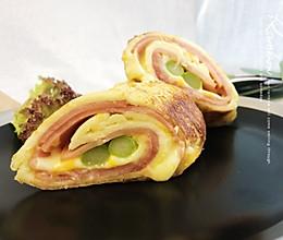 #美食新势力#培根面包卷的做法