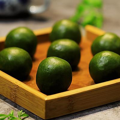 艾叶青团(鲜肉春笋&芋泥&红豆)