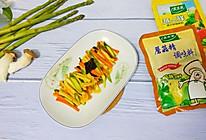 #精品菜谱挑战赛#芦笋炒菇的做法