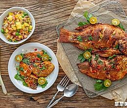 香茅烤罗非鱼|细嫩鲜美的做法
