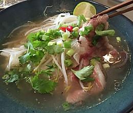 长在北京的越南牛肉河粉的做法