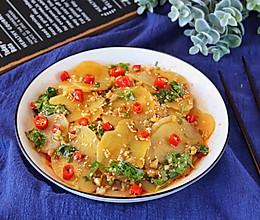 土豆这样做,酸辣开胃特下饭的做法