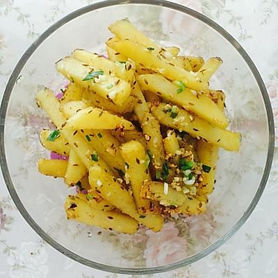 椒盐蒜香土豆条