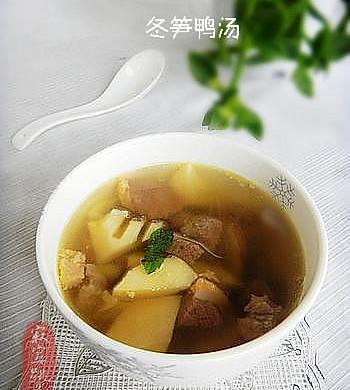 冬笋鸭汤---春季养生重饮食
