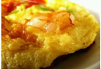大虾厚蛋烧的做法