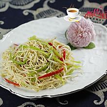 豆芽炒干丝