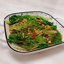 超级简单的蚝油生菜~