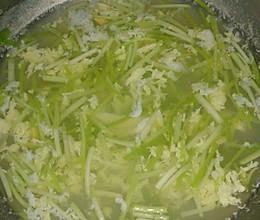 蒜苗鸡蛋汤的做法