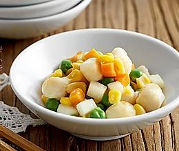 玉米鲜贝粒的做法