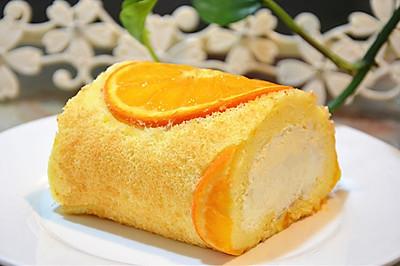 用青见橘做蛋糕卷,要带皮吃才够味儿!
