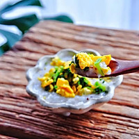 豆腐鸡蛋青菜松的做法图解10