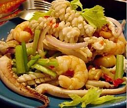 泰式海鲜沙拉的做法