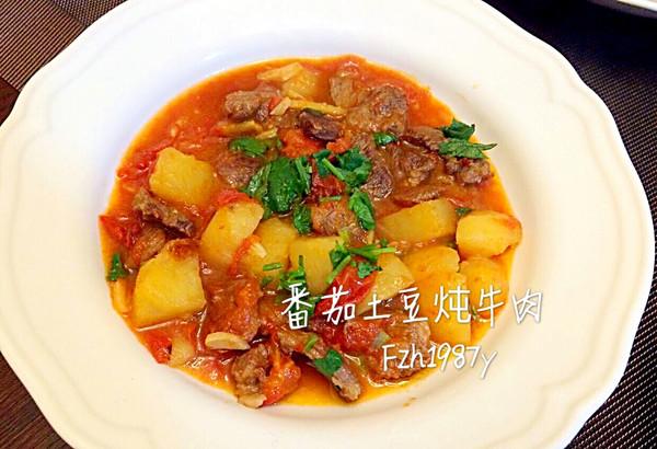 番茄土豆炖牛肉~低脂又美味的做法