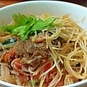 番茄牛肉炒米粉