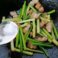 蒜苔回锅肉的做法图解9