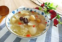 银耳花胶梨汤的做法