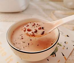 比奶茶还好吃的椰浆红豆紫米粥的做法