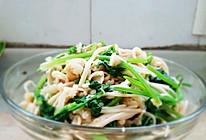 香菜鳕鱼金针菇(凉菜)的做法