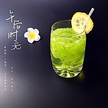 绿色精灵苦瓜饮#豆果魔兽季邪能饮料#