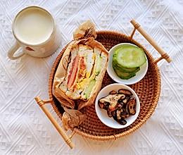 五彩缤纷三明治,开启元气满满的一天 吐司的N种做法的做法