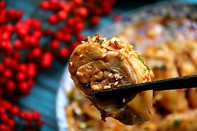 鮮香流口水的涼菜口水雞