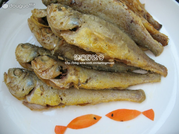 酥炸黄花鱼的做法