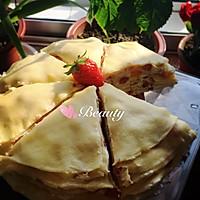 草莓芒果千层蛋糕的做法图解22
