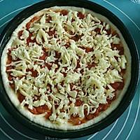 鲜虾火腿披萨的做法图解9