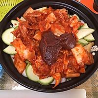 厨房小白做大餐/韩式泡菜火锅的做法图解5