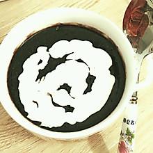 椰汁黑糯米