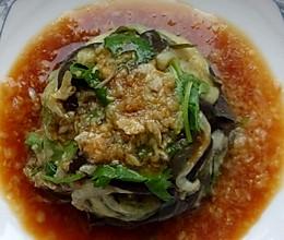 简单凉拌菜儿   蒜泥茄子的做法