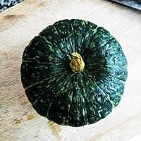 南瓜龟苓膏冻~清凉过一夏#寻找最聪明的蒸菜达人#的做法图解1